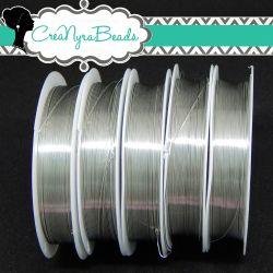 Filo in ottone diametro 0.4 mm Colore Argento  +/-10mt