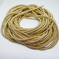 50 cm Catena Serpentina 4mm rivestita oro