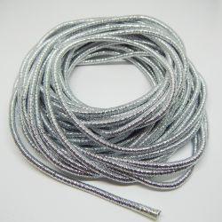 50 cm Catena Serpentina 4mm rivestita argento chiaro