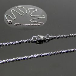 Base per Catenina 45 cm  in acciaio inox  maglina 2x1.5  mm