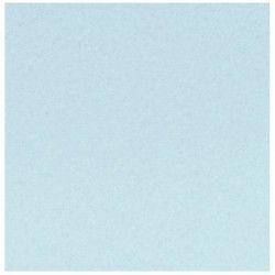 Foglio in Feltro blue Pastel - Celeste Pastello 30x30 mm spessore 2 mm
