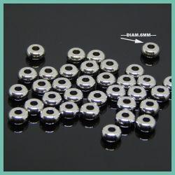 15  Pz Rondella piatta in acciaio inossidabile 6X3x2 mm