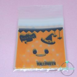20 Pz Sacchetto regalo cellophane Halloween Trick or Treat 13x10cm