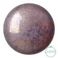 Cabochon par Puca® Opaque  Amethyst Bronze Confezione da 1 Pz
