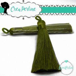 Nappina in  Poliestere 8 cm Colore Verde Oliva