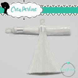 Nappina in  Poliestere 8 cm Colore Bianco