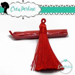 Nappina in  Poliestere 8 cm Colore Rosso