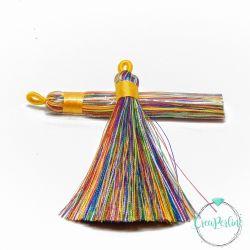 Nappina in  Poliestere 8 cm Colore Arcobaleno