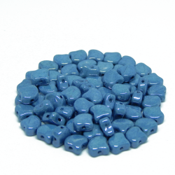 Perline Ginko Chalk Blue Luster 5gr
