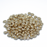 Perline Superduo 5x2,5mm CRYSTAL BRONZE PALE GOLD 10gr