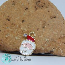 Ciondolo di Natale Calza di Natale Strass 18x14 mm