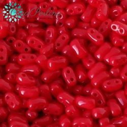 Perline BI-BO 5.5X2.8MM Opaque Coral Red