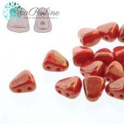 Perline NIB-BIT 6X5MM CORAL RED LUMI  5gr