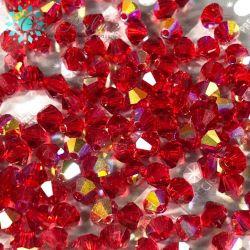 Bicono Preciosa 4 mm light Siam Ab 24 Pezzi
