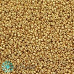 Perline Rocaille Miyuki 11/0 Galvanized Gold 1052  (5gr)