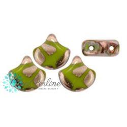 Perline Matubo Ginko Opaque Green Full Capri Gold Batic 5gr