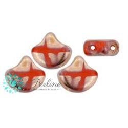 Perline Matubo Ginko Opaque Coral  Full Capri Gold Batic 5gr