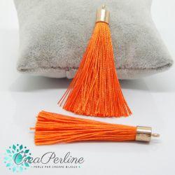 Nappina in  Poliestere 6 cm Colore Arancio  / oro