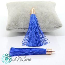 Nappina in  Poliestere 6 cm Colore Blu  / oro