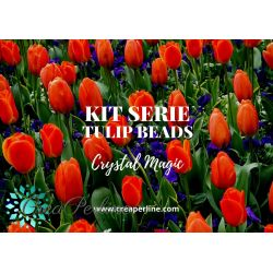 KIT MINI SERIE TULIP PETALS 6X8MM CRYSTAL MAGIC