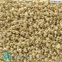 Perline Rocaille Miyuki 11/0 Duracoat Galvanized Pale Gold 5101  (5gr)