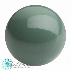 Perle Preciosa Maxima 4 mm colore sage (salvia) 20 Pezzi