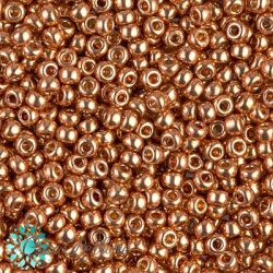 Perline Rocaille Miyuki 8/0  Duracoat Galvanized Muscat