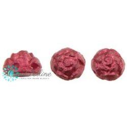 Cabochon Roseta doppio foro 6 mm colore Chatoyant Spring Crocus 10 pz