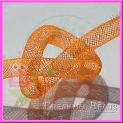 1 Metro Calza tubolare Arancio 10 mm in nylon