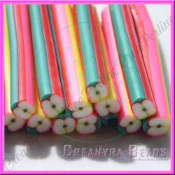 Canes in pasta polimerica barretta Mela 5 cm