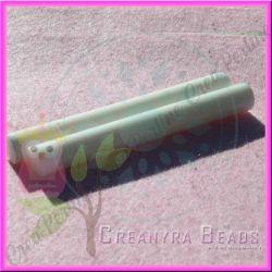 Stick colla a caldo effetto glassa bianco 12 mm (lungo 9,5 cm)