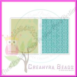 Sizzix textured impressions Circle frame & Rosemary set  657714