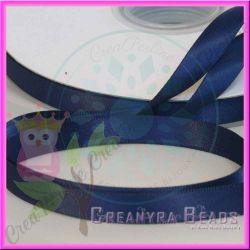 1 Mt Nastro doppio raso Blu 370 10 mm