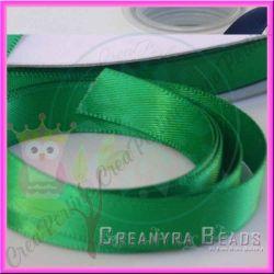 1 Mt Nastro doppio raso Verde 580 10 mm