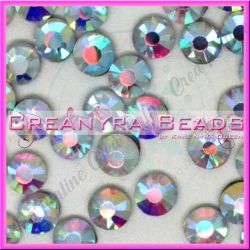 50 Pz Strass hot fix Crystal ab SS16 4 mm