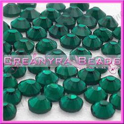 50 Pz Strass hot fix Smeraldo SS16 4 mm