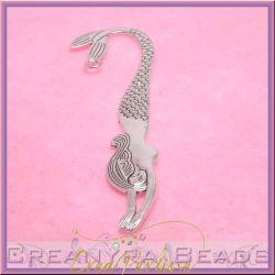 Segnalibro Sirena 12 cm in metallo tono antico