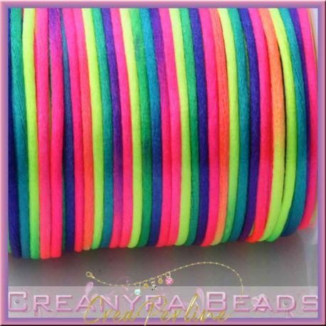 1 Mt Coda di topo colore Arcobaleno 2 mm
