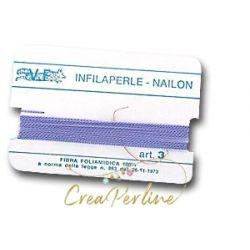 Infilaperle N:3 FUCHSIA 145  con ago mt 2