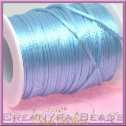 1 Mt Coda di topo colore Azzurro 2 mm
