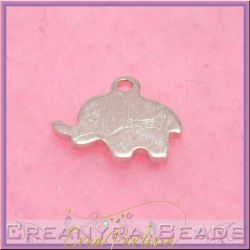 Ciondolo Charms Mini Elefante in argento .925