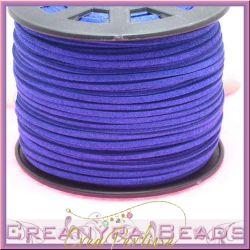 5 Mt alcantara col. Lino Grezzo 3 mm spessore 1,5 Blu Royal
