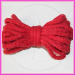 Matassina filo in feltro Ø 3 mm - 5mt Rosso