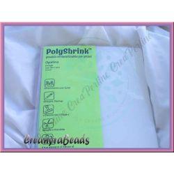 Blister 8 Fogli POLYSHRINK Colore Opalino 267x203
