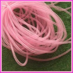 1 Metro Calza Rete tubolare Rosa 8 mm in nylon