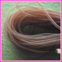 1 Metro Calza Rete tubolare Marrone 8 mm in nylon