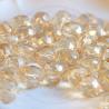 30 pz Perle perle cristallo fire polish Champagne luster