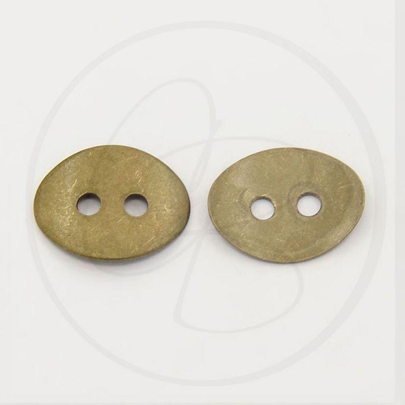 Bottone Chiusura Magnetico Ottone 15x15 Mm 439