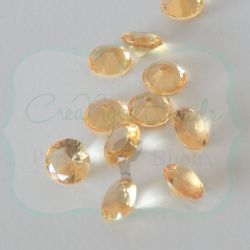 Strass Rosso 16 mm taglio diamante in mezzo cristallo
