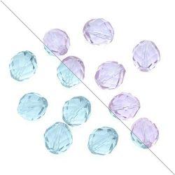 50 Pz Perle Cristallo fire polish Alexandrite  4 mm
